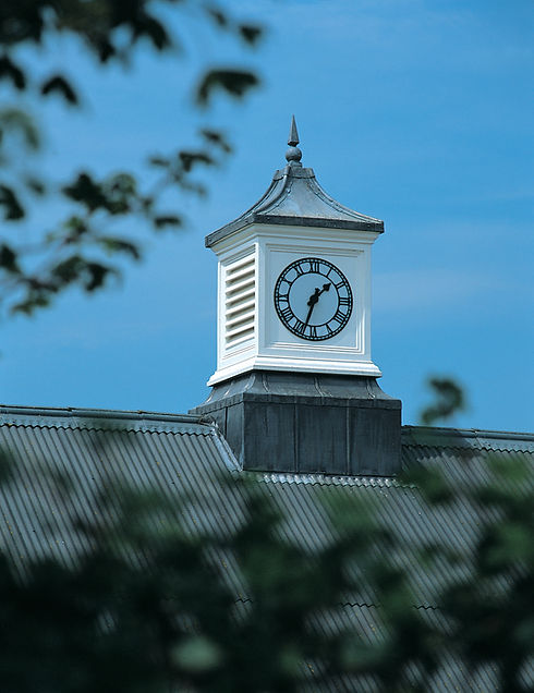 Clock towers and roof turrets