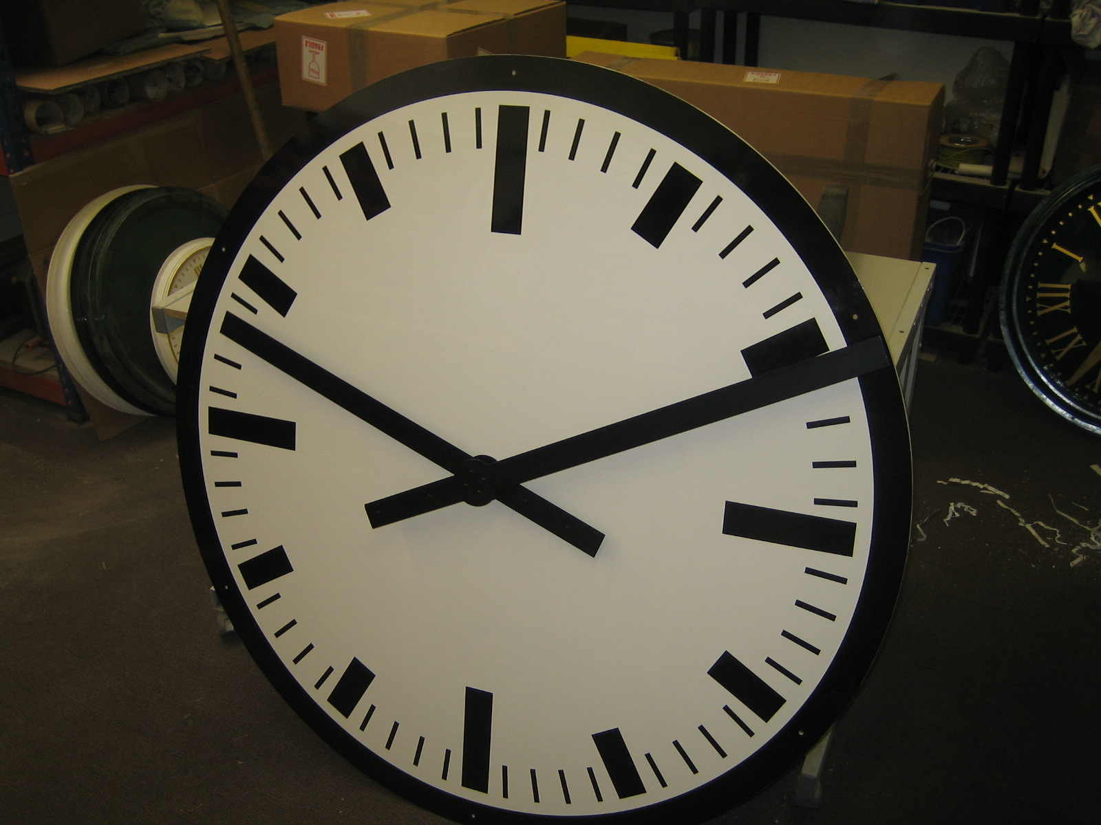 Custom Mains Powered Clock