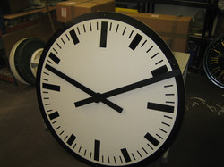 Modern style clock for school