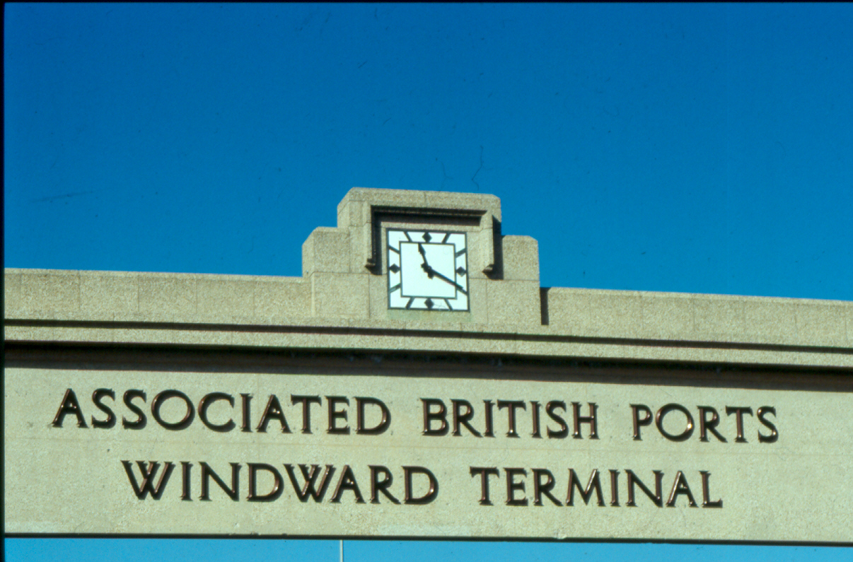 Southampton Port Art Deco Clock