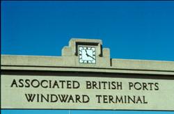 Southampton Port Art Deco Clock