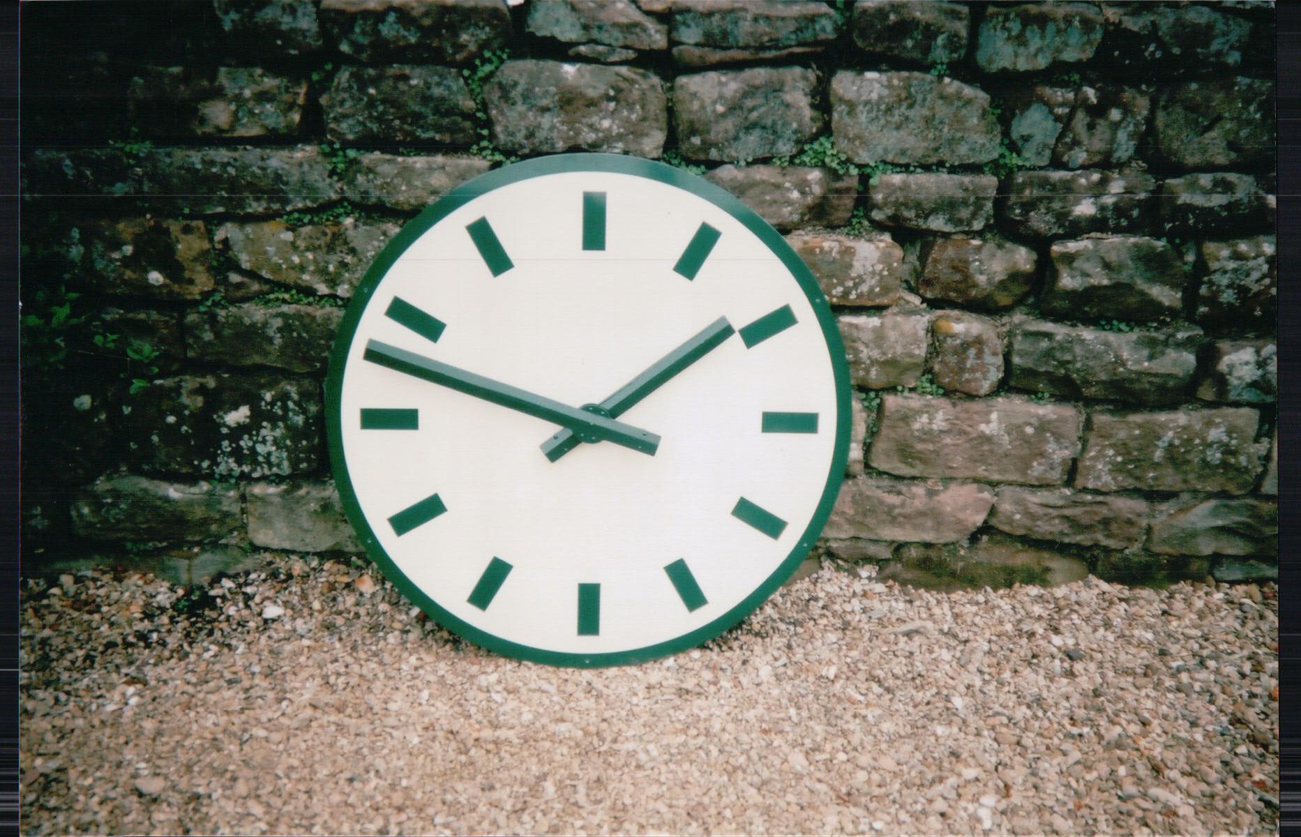 Exterior Wall Clock
