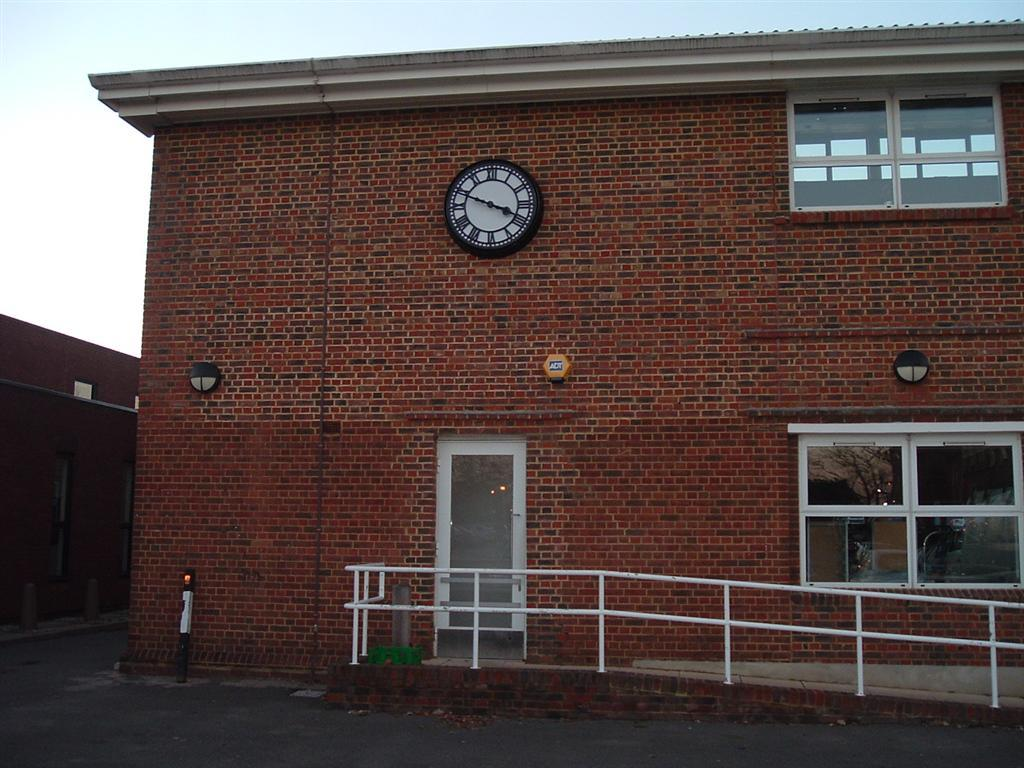 Large exterior clock for buildings
