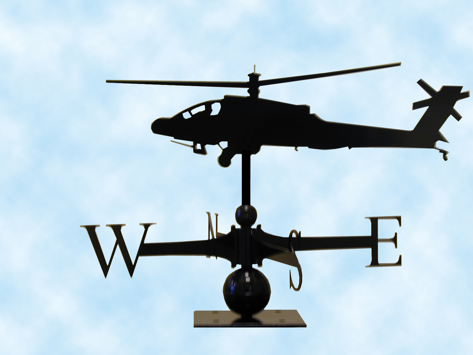 Weathervane - Apaches helicopter