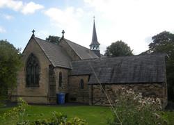 Church replica spire