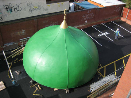GRP Dome and Finial for Mosque