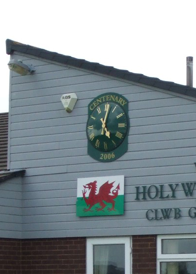 Golf Club House Clock