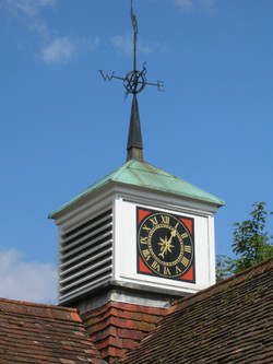 Clock tower feature