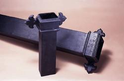 GRP cast iron look downpipe