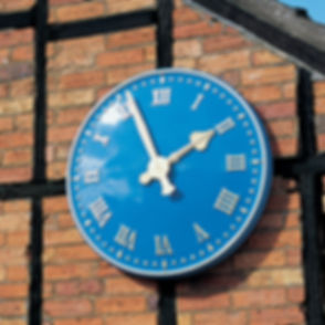 Exterior and Outdoor Clocks by Hawkins Clock Company