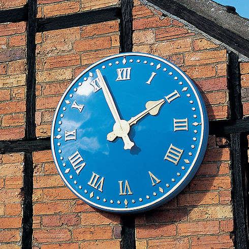 Large exterior clocks for public or private properties