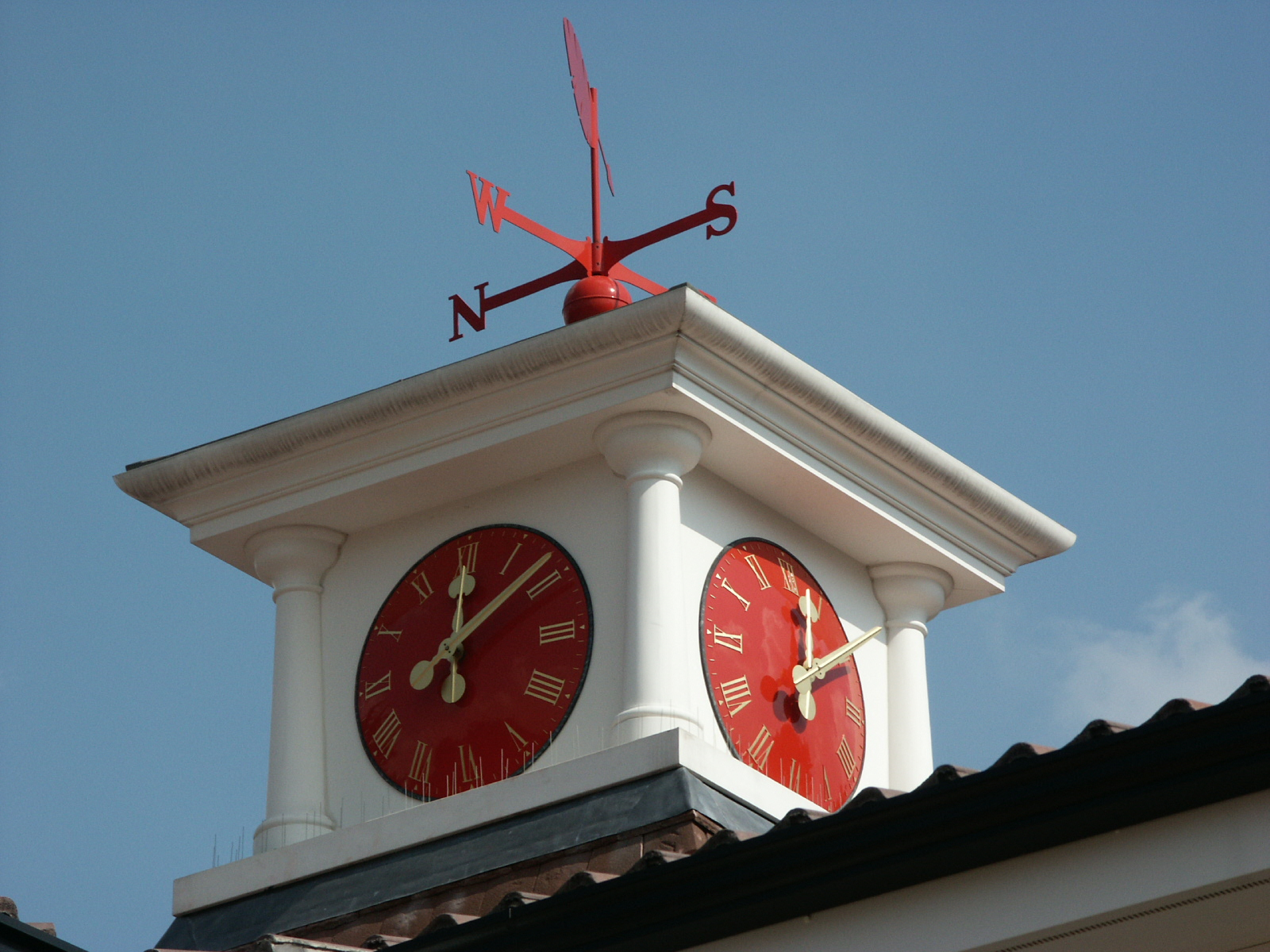 Bespoke GRP Clock Tower