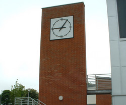 Square modern dial