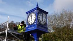 Town centre clock