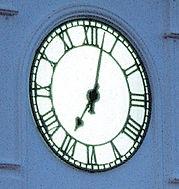 Exterior and Outdoor Clock Dial Illumination