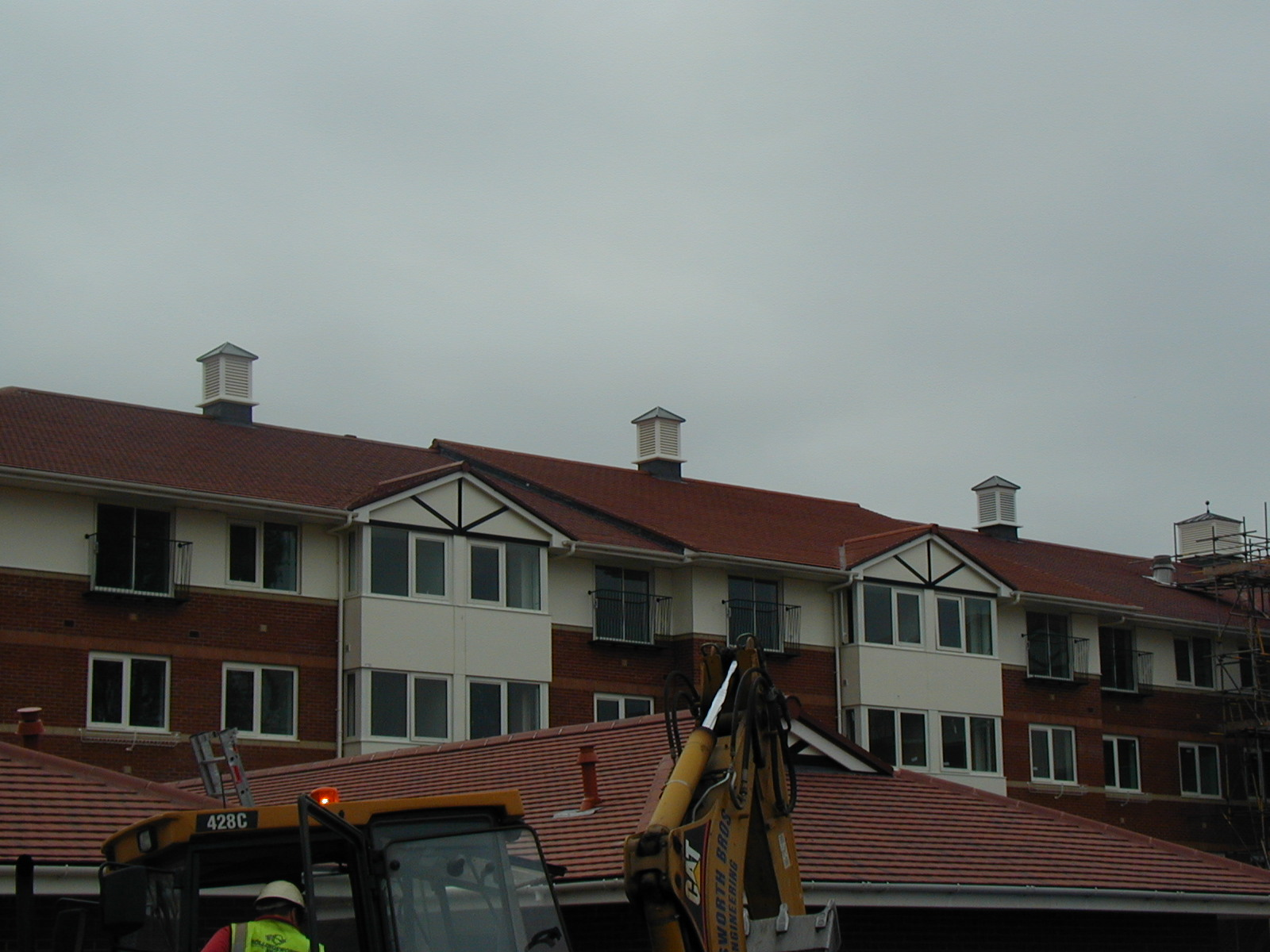Roof turrets for housing