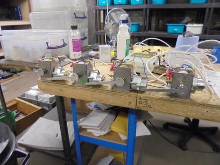 Mains powered clock movements