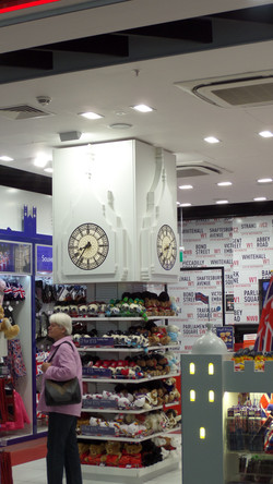 Big Ben style clocks for Harrods