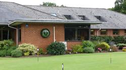Hankeley Golf Club green bezel clock