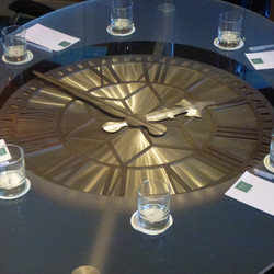 Conference clock table