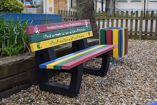 Friendship Seat and Buddy Bench