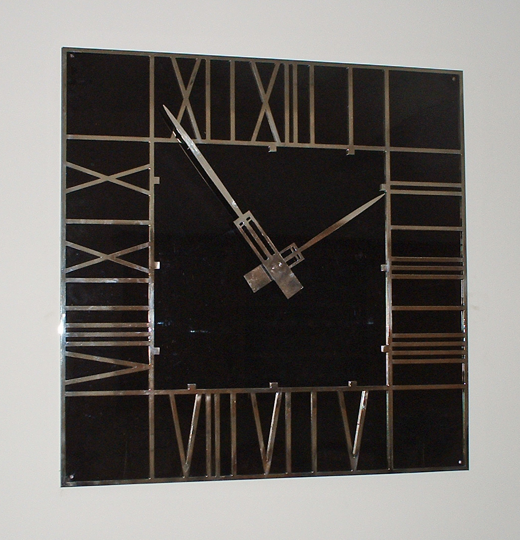 Stainless steel Mackintosh dial