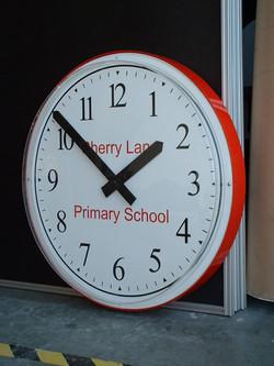 Personalised bezel clock