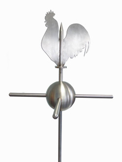 Weathervane - Stainless steel Rooster