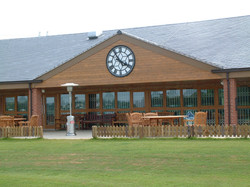 Sports Pavilion Clock