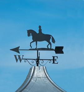 Horse Riding Weathervane