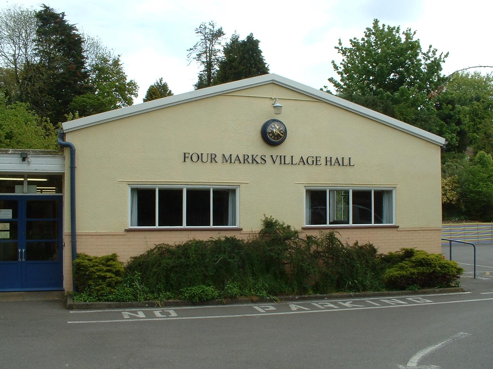 Village hall clock