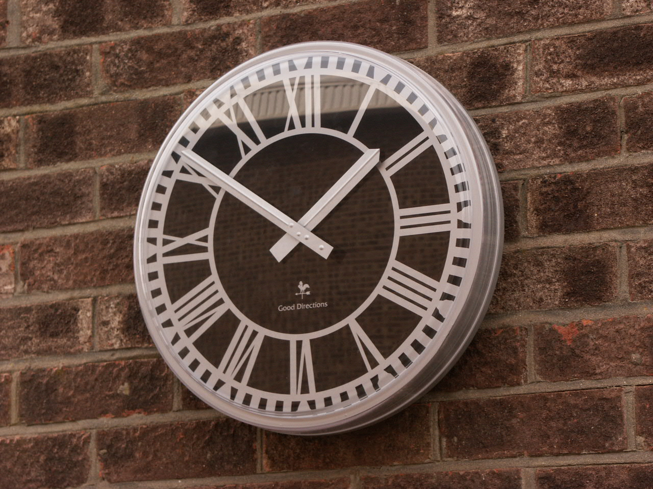 Clock with protective cover