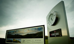 Bespoke sponsored clock