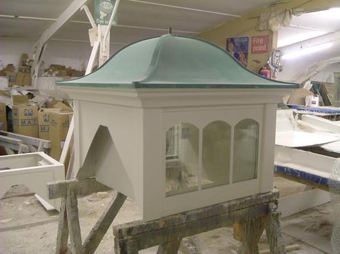 Glazed GRP Cupola