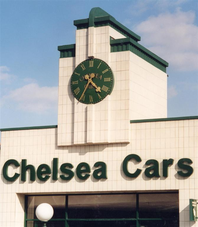 Large Exterior Clocks for buildings