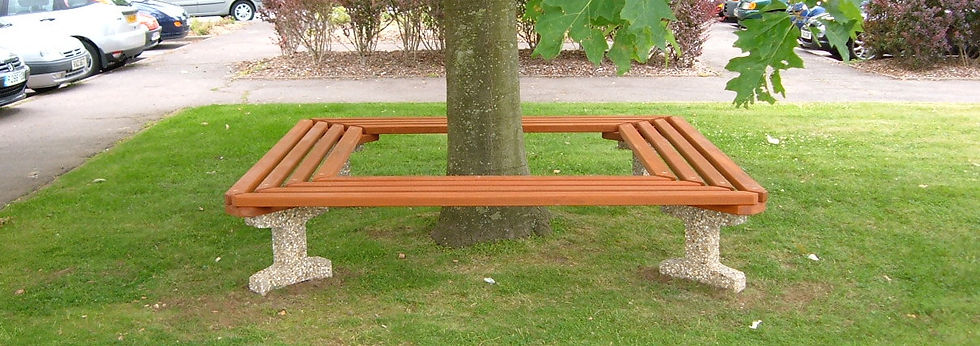 Tree Benches by Neptune Street Furniture