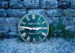 Commemorative Outdoor Clock