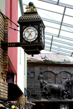 Ornate traditional drum clock