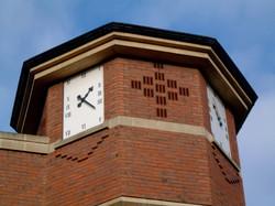Bespoke rectangular clock