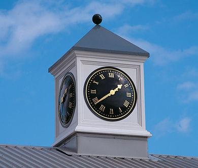 Roof Turrets, Exterior Clocks, Clock Towers