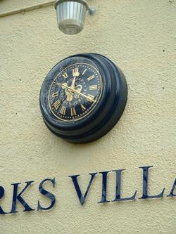 Village Hall bezel clock