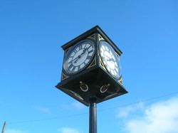 Civic clock with four dials