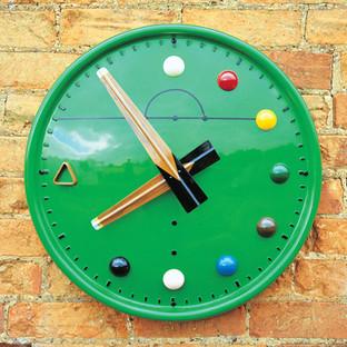 Bespoke snooker clock