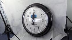 Sign written school clock