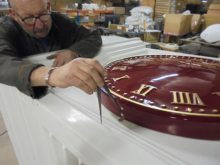 Large Outdoor Clock Manufacturing