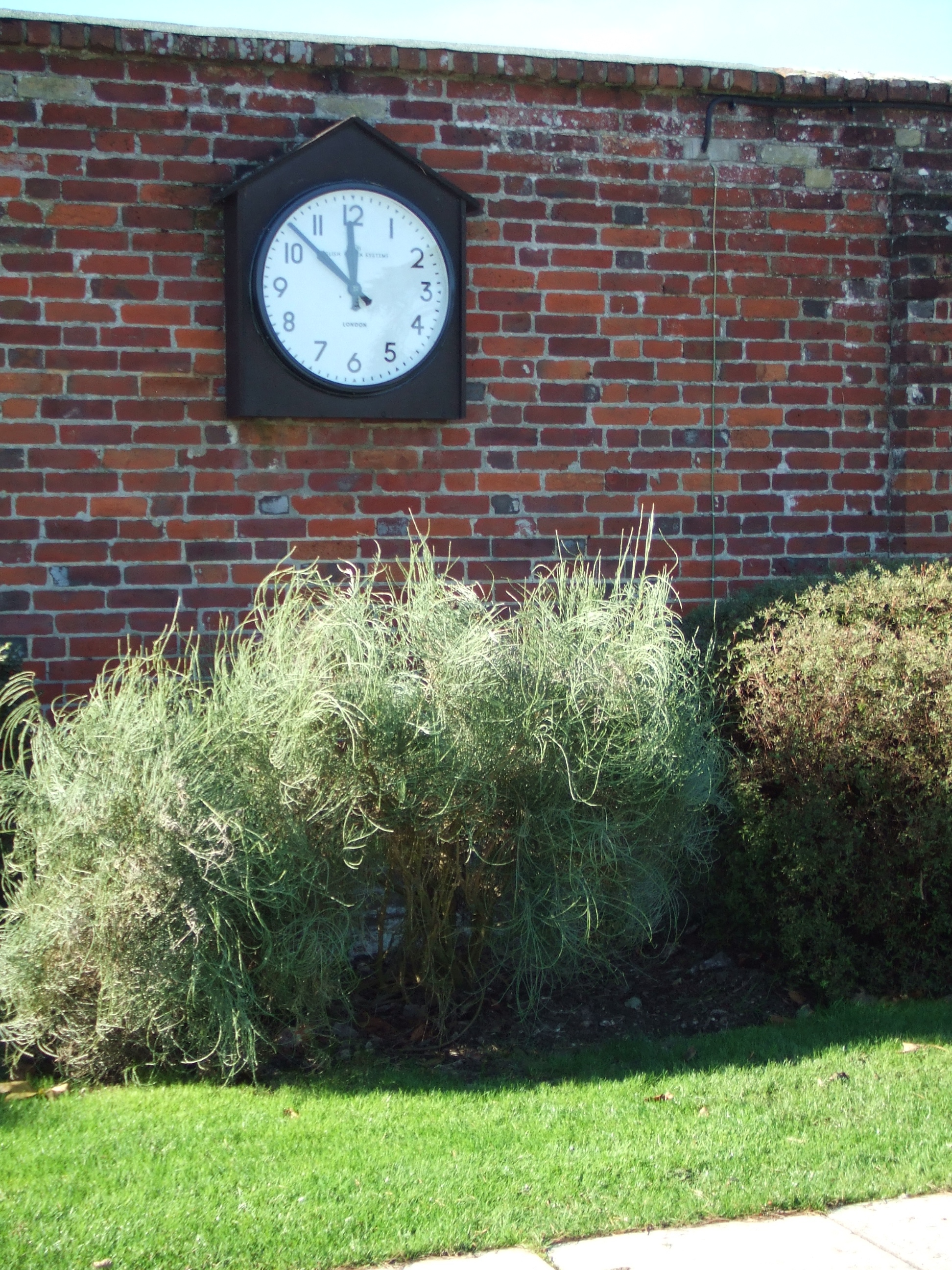 Bezel clock in a school
