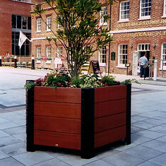 Beaufort Hexagonal Street Planter
