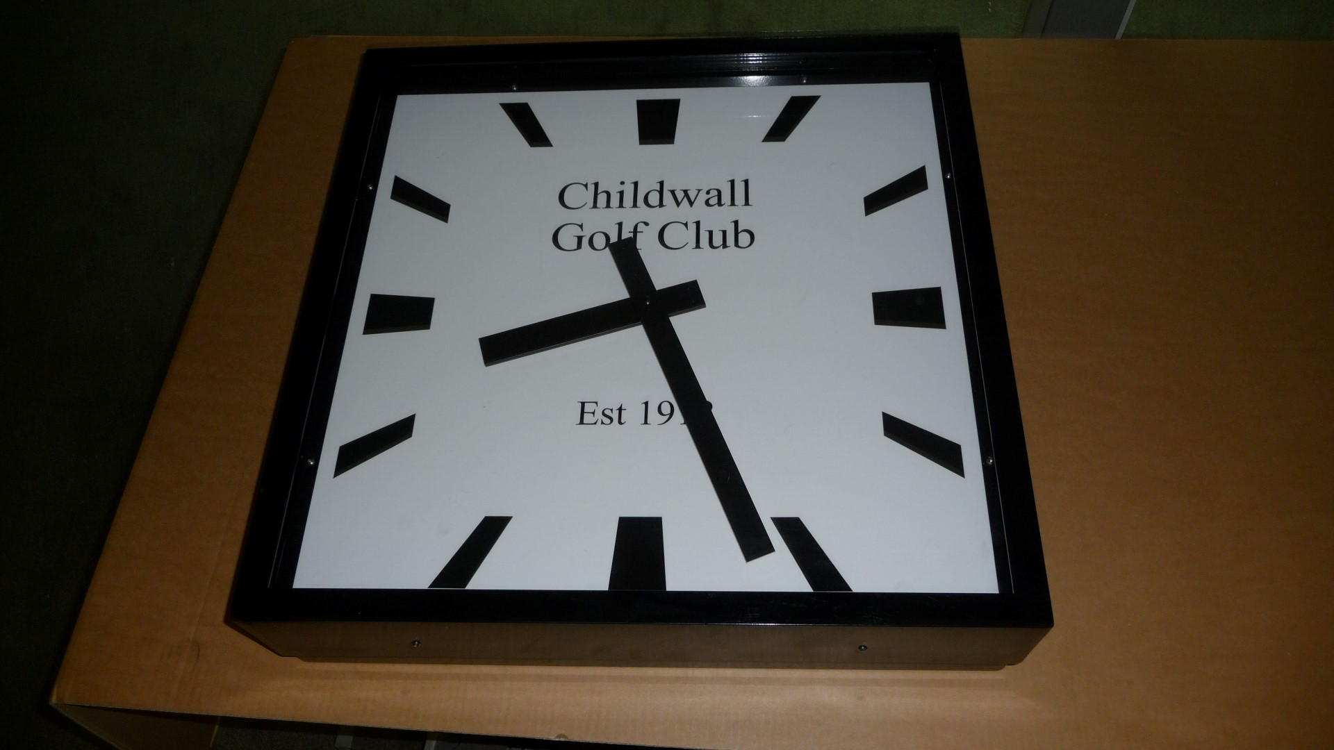 Childwall Golf Club Clock