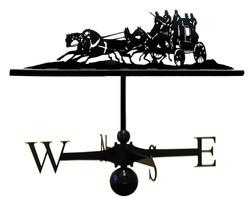 Weathervane - Coach and horses