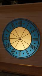Illuminated Medieval dial